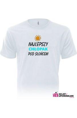 koszulka chłopaka najlepszy pod słońcem