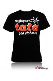 Koszulka z napisem Naj Tata prezent Taty