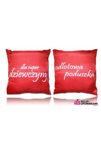 poduszka z nadrukiem prezent dziewczyny