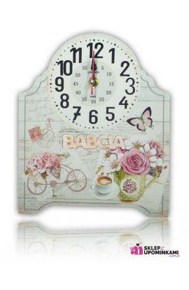 zegar na desce ładny prezent babci