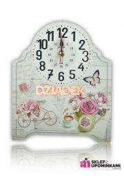 Zegar na desce ładny prezent Dziadka
