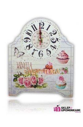 zegar z napisem prezent emerytura