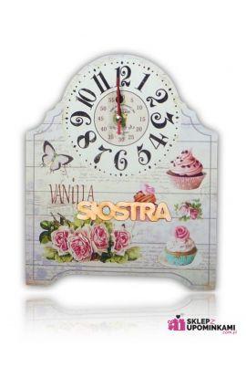 zegar ładny prezent z napisem brat