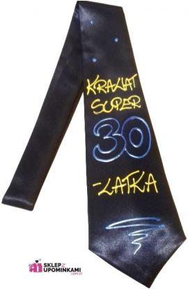krawat z napisem śmieszny prezent na 30 Urodziny