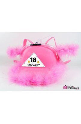 Kask niezbędnik imprezowy prezent 18 Urodziny