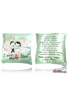 poduszka prezent ślubny