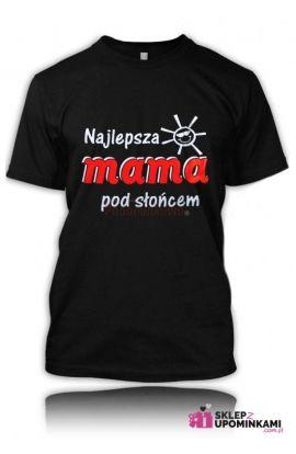 koszulka z napisem mama najukochańsza prezent Mamy