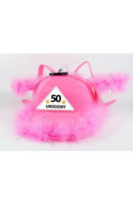 Kask niezbędnik imprezowy prezent 50 Urodziny