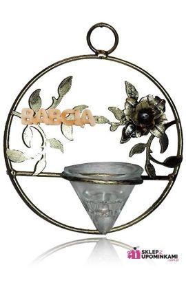 swiecznik wazon prezent dla mamy babci siostry