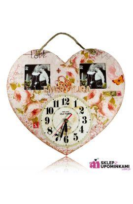 zegar i ramka na zdjęcie prezent na emeryturę