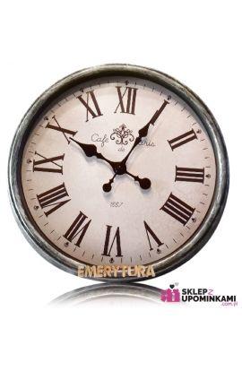 zegar prezent na emeryturę
