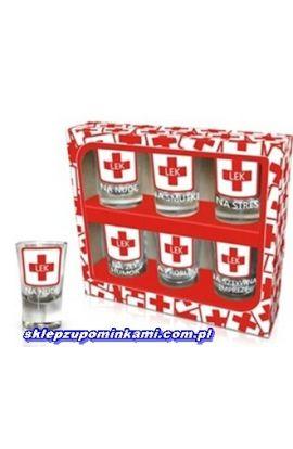 kieliszki śmieszne do wódki prezent
