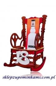 Stojak na alkohol prezent na 18 Urodziny Fotel bujany