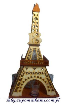 barek wieża kieliszki na 18 urodziny