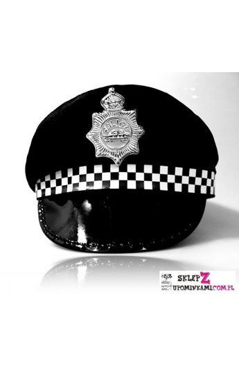 czapka policjanta przebranie imprezowe