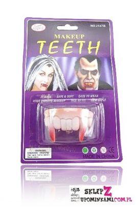 zęby wampira przebranie strachy
