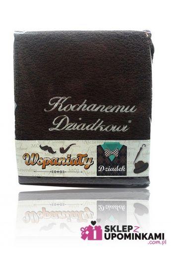 ręcznik haftowany prezent dla dziadka