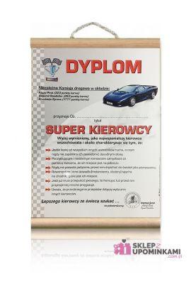 dyplom super kierowcy