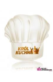 Czapka kucharska Król Kuchni śmieszny prezent Mężczyzny
