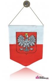 Proporczyk z godłem pamiątka Polska Poland