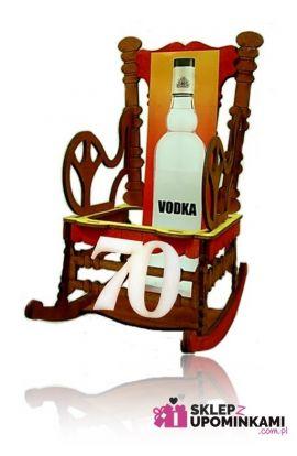 stojaki na butelkę na 70 urodziny