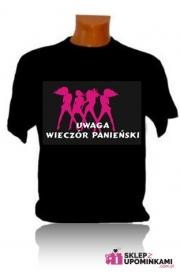 Koszulki z napisem prezent Dziewczyny Wieczór Panieński