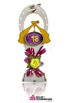 kosz na butelkę na 18 urodziny