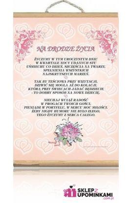 dyplom na ślub życzenia ślubne