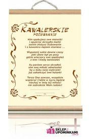Dyplom Wieczór Kawalerski pamiątka