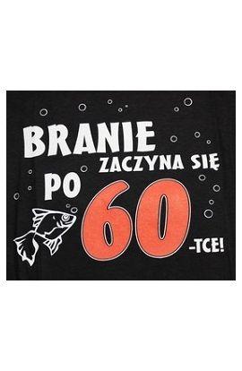 koszulki z nadrukiem na 60 urodziny