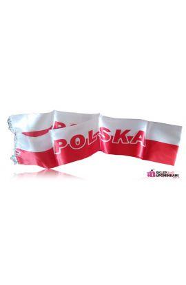 szalik polska biało czerwony