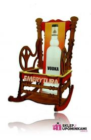 Stojak na butelkę Fotel na Emeryturę