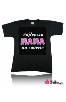 koszulka z nadrukiem dla mamy