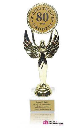statuetka trofeum na 80 urodziny