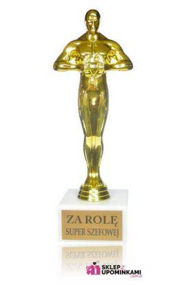 statuetka dla szefowej gratulacje