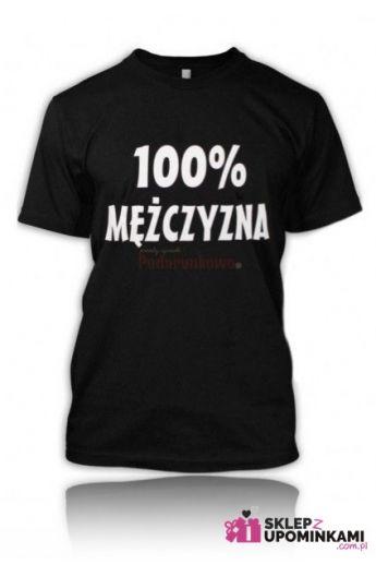 koszulka ze śmiesznym napisem mężczyzny