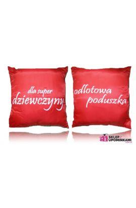 poduszka z nadrukiem dla dziewczyny
