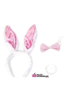 uszy króliczka śmieszny strój