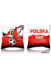 Poduszka z napisem Polska Orzełek