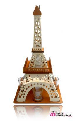 kieliszki młodej parze stojak wieża