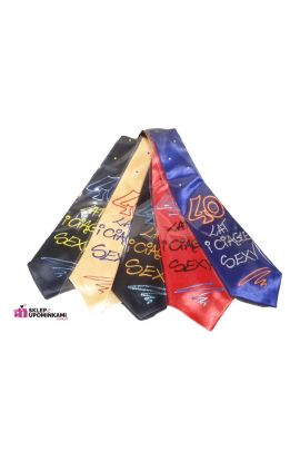 krawat śmieszny na 40 urodziny