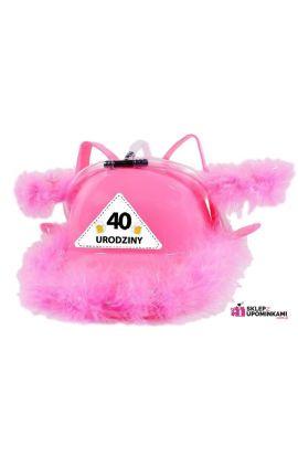 Kask niezbędnik imprezowy prezent 40 Urodziny