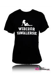 Koszulki z napisem prezent Wieczór Kawalerski