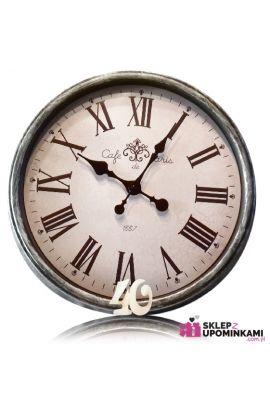 zegar z dedykacją na urodziny