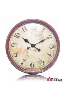 zegar z dedykacją szefa szefowej