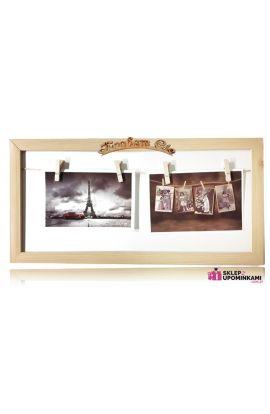 ramka na zdjęcia prezent walentynki
