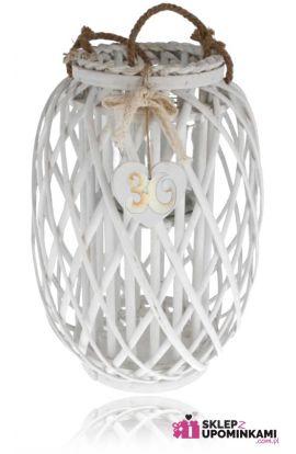 Lampion wiklinowy duży na urodziny