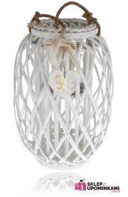 Lampion wiklinowy ozdobny duży prezent 40 50 60 70 Urodziny