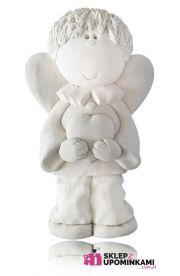 Figurka Aniołek Chłopiec prezent Dziecku Chłopakowi