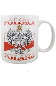 Kubek Polska Poland 3 wzory